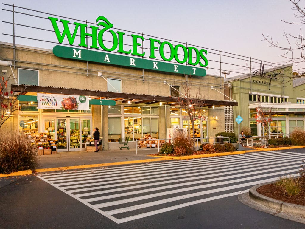 Whole Foods grocery store near Ivy at Interbay in Seattle